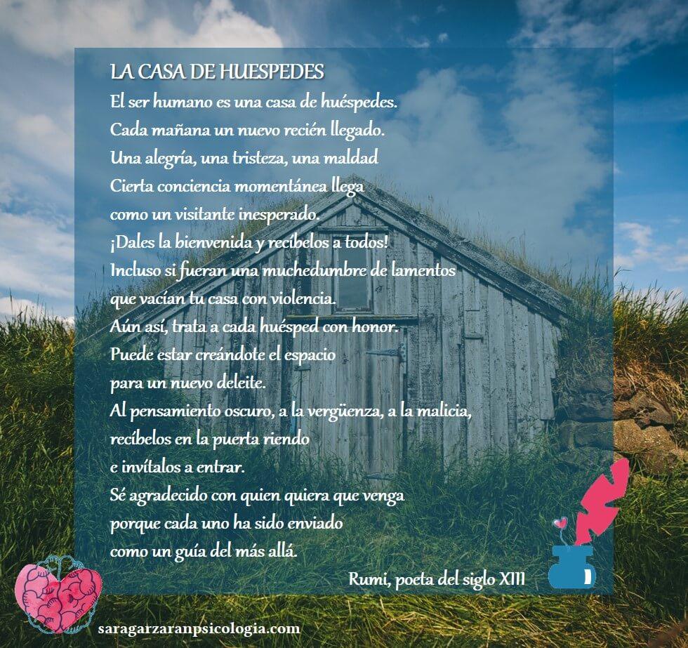 Poema de Rumi La casa de Huespedes